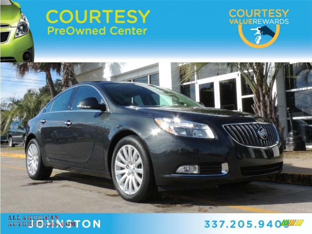 2013 Buick Regal Turbo In Smoky Gray Metallic 140718
