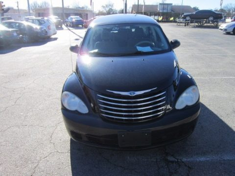 Brilliant Black Crystal Pearl 2006 Chrysler PT Cruiser