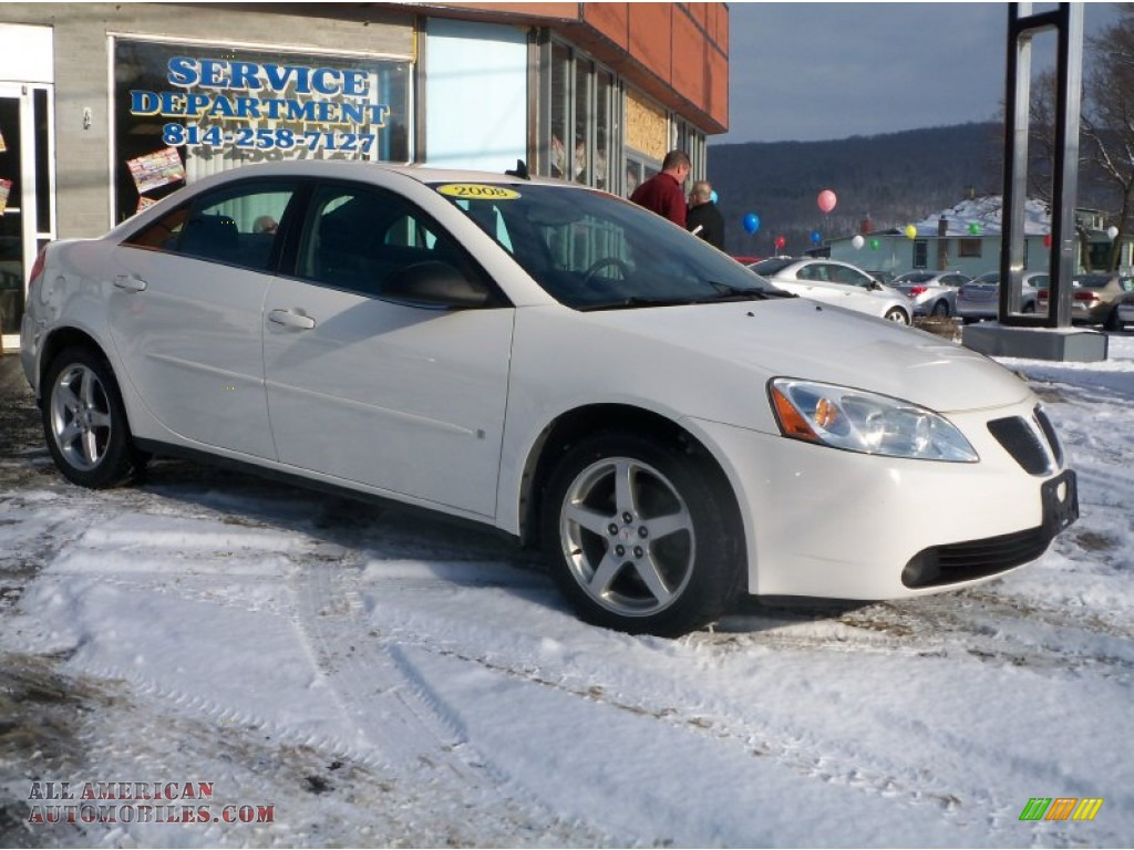 2008 Pontiac G6 Gt Sedan In Ivory White 119656 All