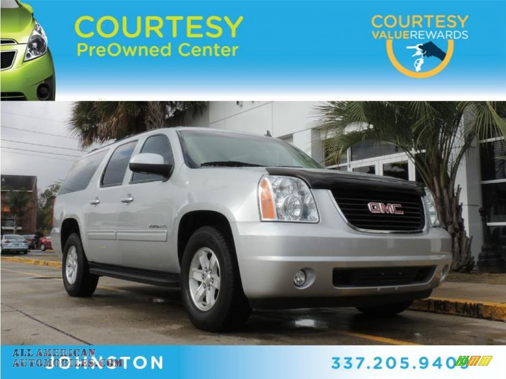 2012 Gmc Yukon Xl Slt In Quicksilver Metallic Photo 2 121806 All American Automobiles Buy