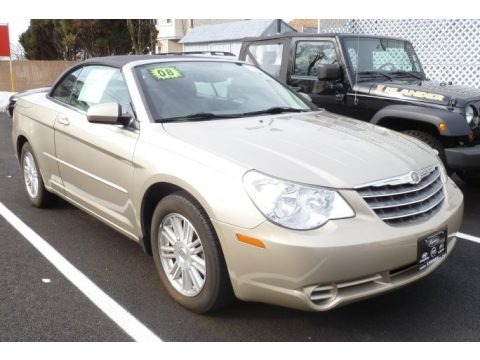 Light Sandstone Metallic 2008 Chrysler Sebring Touring Convertible