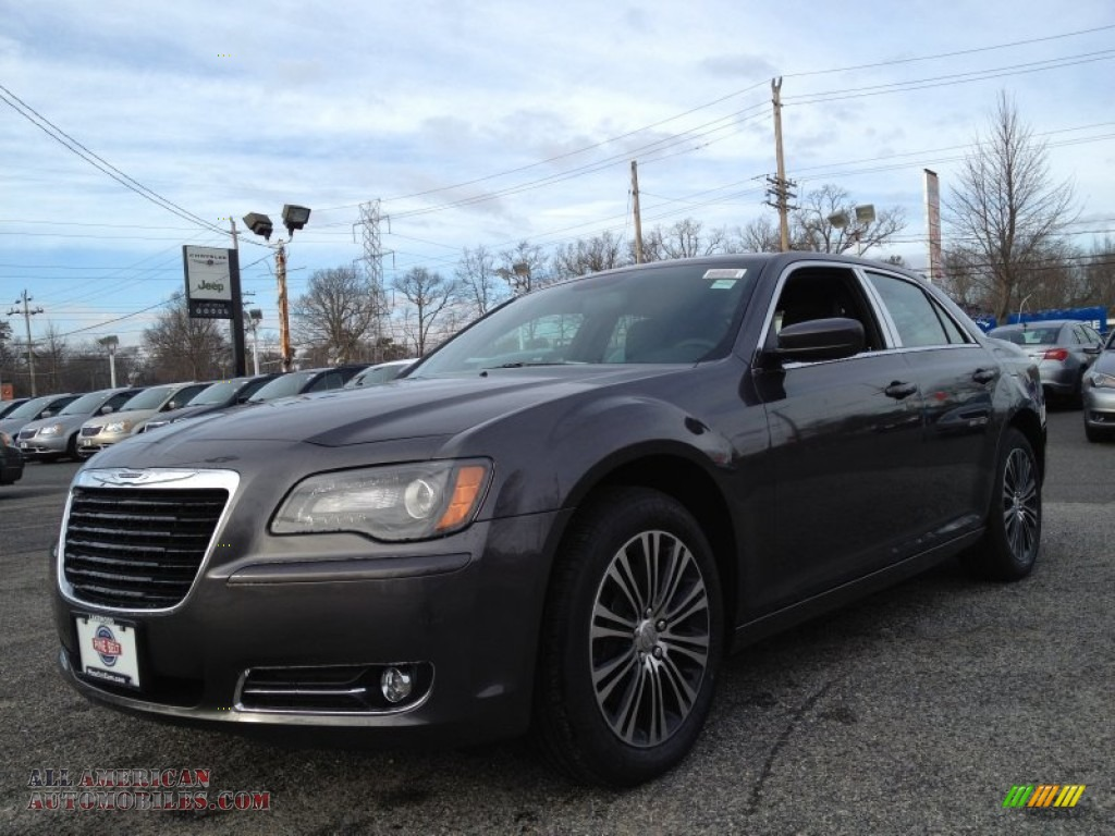 2014 chrysler 300 s awd in granite crystal metallic 163344 all american automobiles buy. Black Bedroom Furniture Sets. Home Design Ideas