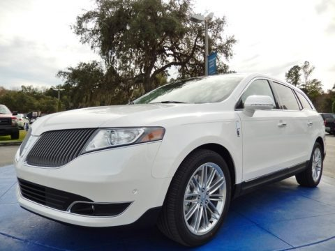 White Platinum 2014 Lincoln MKT EcoBoost AWD