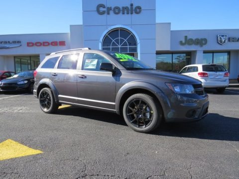 2013 Dodge Journey Crew AWD in Fathom Blue Pearl photo #7 ...