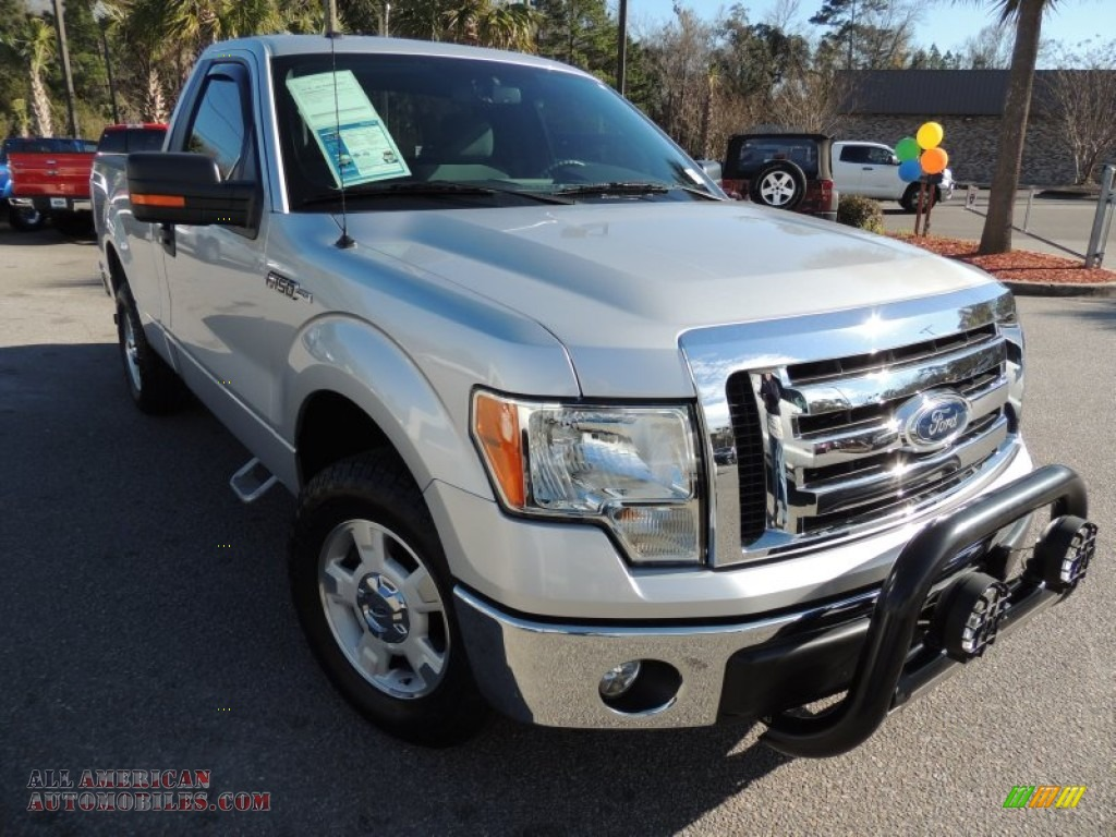 2011 ford f150 xlt regular cab in ingot silver metallic c09829 all american automobiles. Black Bedroom Furniture Sets. Home Design Ideas