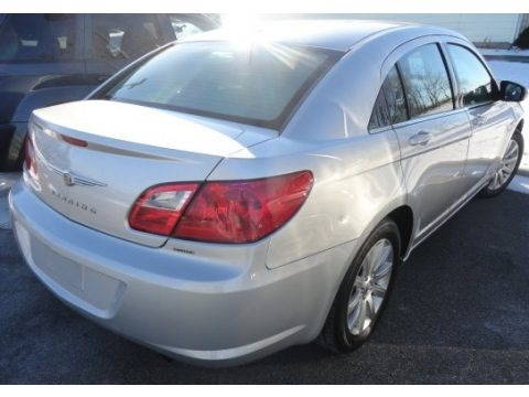 Bright Silver Metallic 2010 Chrysler Sebring Limited Sedan
