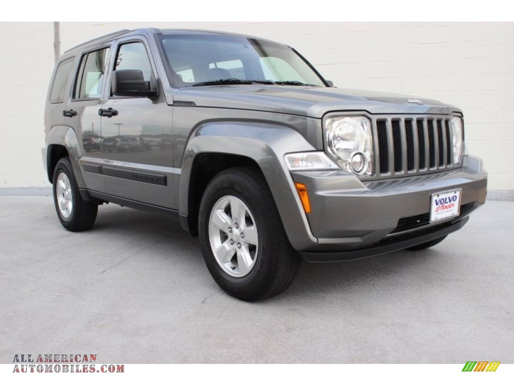 2012 jeep liberty sport 4x4 in mineral gray metallic 172975 all american automobiles buy. Black Bedroom Furniture Sets. Home Design Ideas