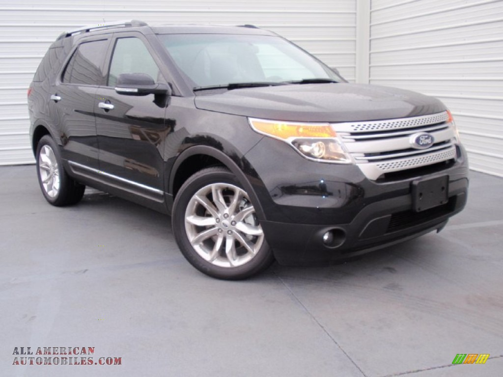 2014 ford explorer xlt in tuxedo black a78447 all american automobiles buy american cars. Black Bedroom Furniture Sets. Home Design Ideas