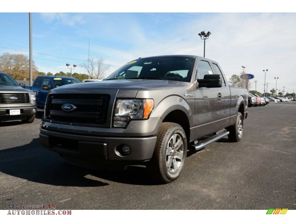 2014 ford f150 stx supercab in sterling grey a40856 all american automobiles buy american. Black Bedroom Furniture Sets. Home Design Ideas