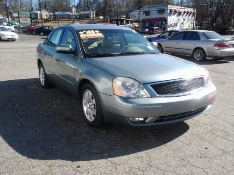 Titanium Green Metallic 2005 Ford Five Hundred SEL