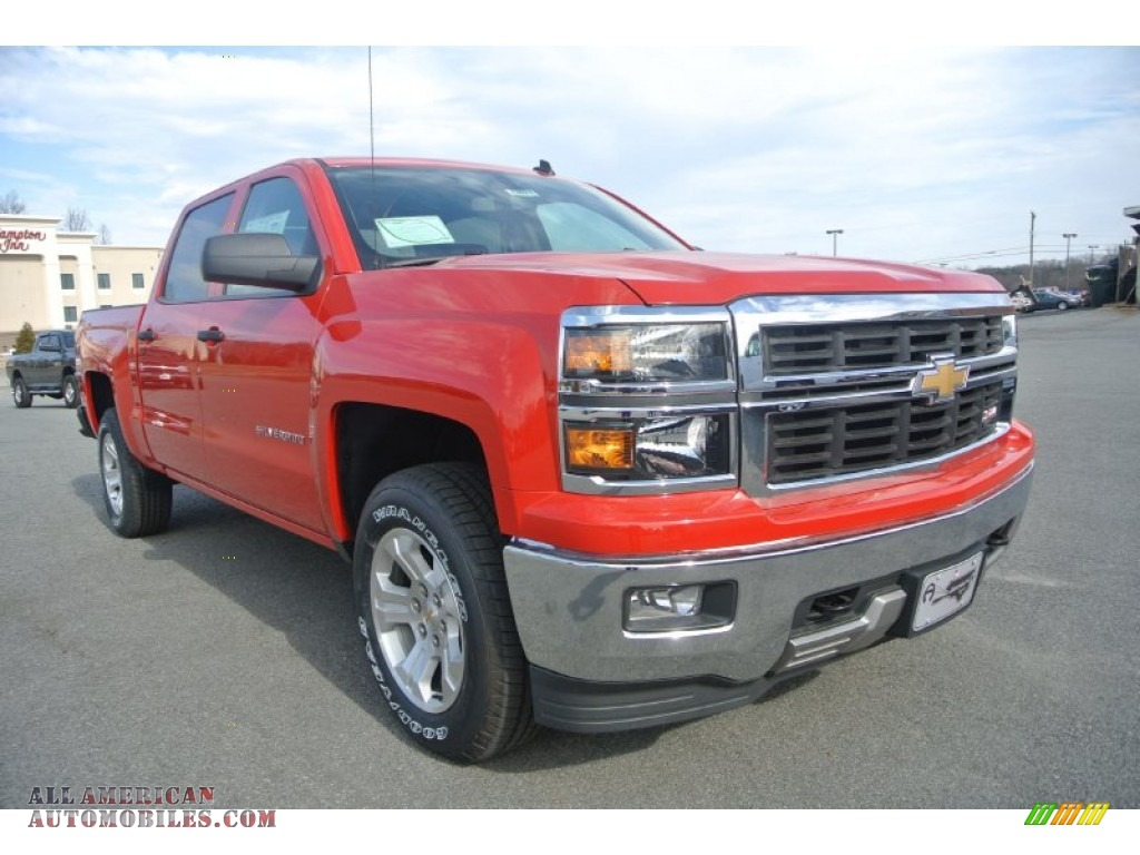 2014 chevrolet silverado 1500 lt z71 crew cab 4x4 in victory red 344820 all american. Black Bedroom Furniture Sets. Home Design Ideas