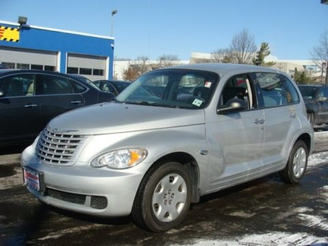 Bright Silver Metallic 2009 Chrysler PT Cruiser LX