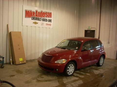 Inferno Red Crystal Pearl 2009 Chrysler PT Cruiser Touring