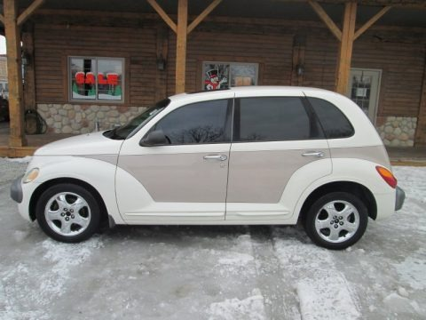 Stone White 2001 Chrysler PT Cruiser Limited