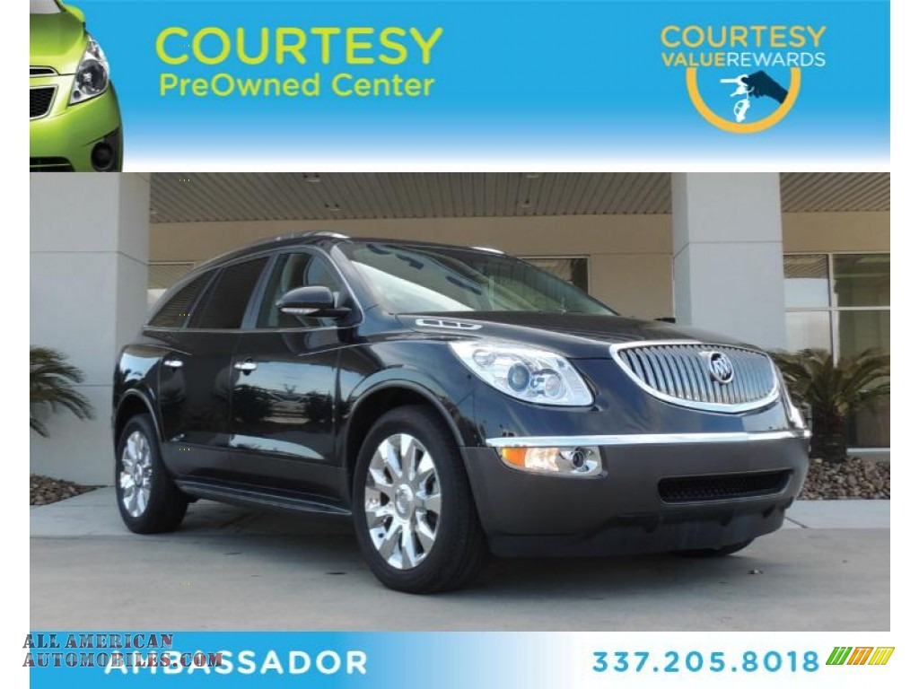2012 Buick Enclave Fwd In Carbon Black Metallic 252188