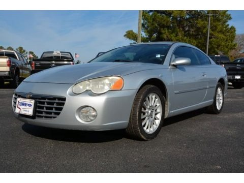 Bright Silver Metallic 2004 Chrysler Sebring Limited Coupe