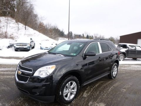 Black Granite Metallic 2014 Chevrolet Equinox LT AWD