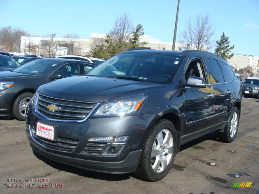 2013 chevrolet traverse ltz awd in cyber gray metallic. Black Bedroom Furniture Sets. Home Design Ideas