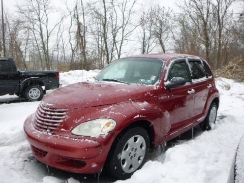 Inferno Red Pearlcoat 2004 Chrysler PT Cruiser