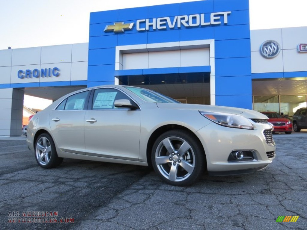 2014 chevrolet malibu ltz in champagne silver metallic 203645 all american automobiles buy. Black Bedroom Furniture Sets. Home Design Ideas