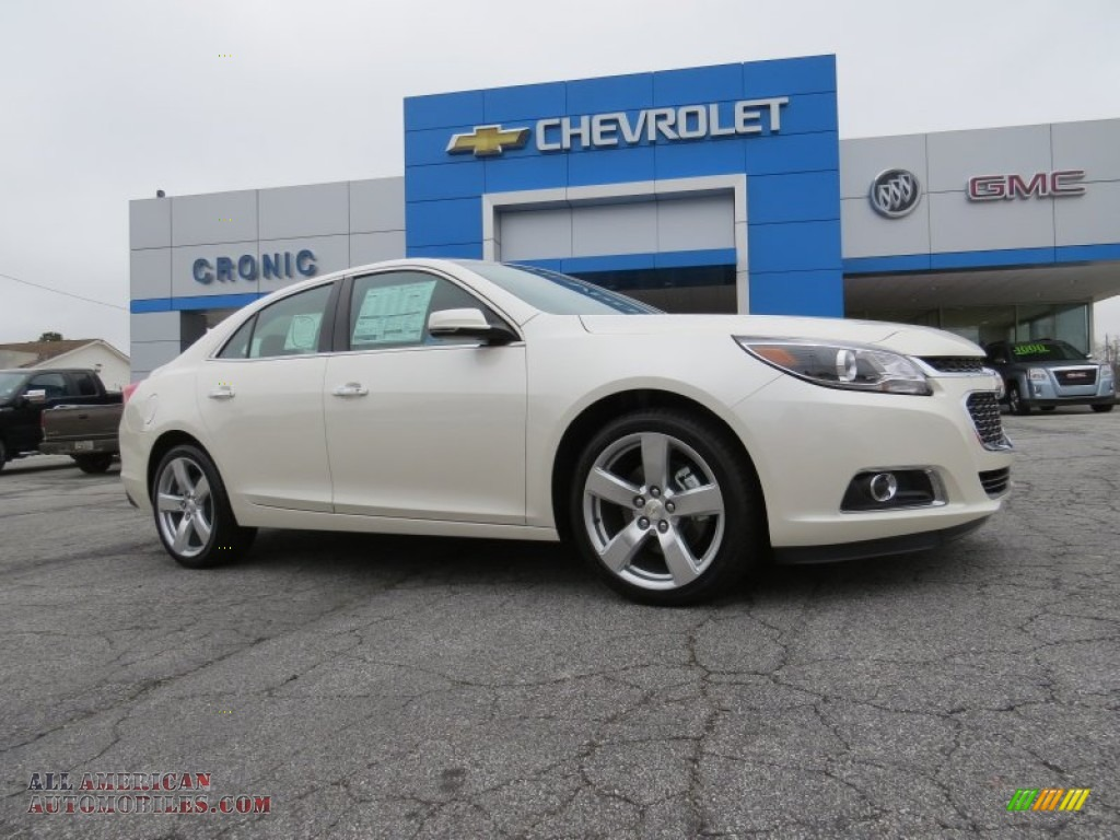 2014 chevrolet malibu ltz in white diamond tricoat 204601 all american automobiles buy. Black Bedroom Furniture Sets. Home Design Ideas