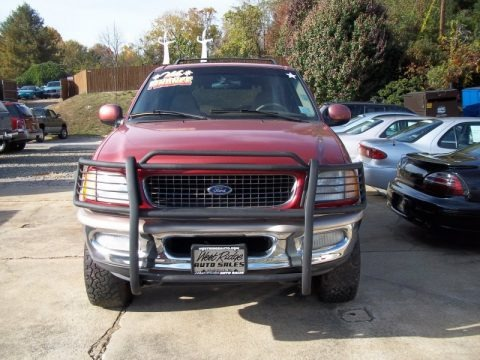 Dark Toreador Red Metallic 1998 Ford Expedition Eddie Bauer 4x4