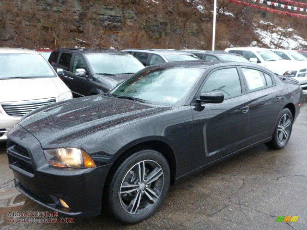 2014 dodge charger sxt plus awd in pitch black 224137 all american automobiles buy. Black Bedroom Furniture Sets. Home Design Ideas
