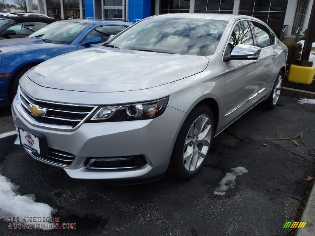 2014 chevrolet impala ltz in silver ice metallic 145129 all american automobiles buy. Black Bedroom Furniture Sets. Home Design Ideas