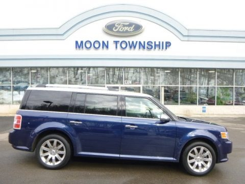 Dark Blue Pearl Metallic 2012 Ford Flex Limited AWD