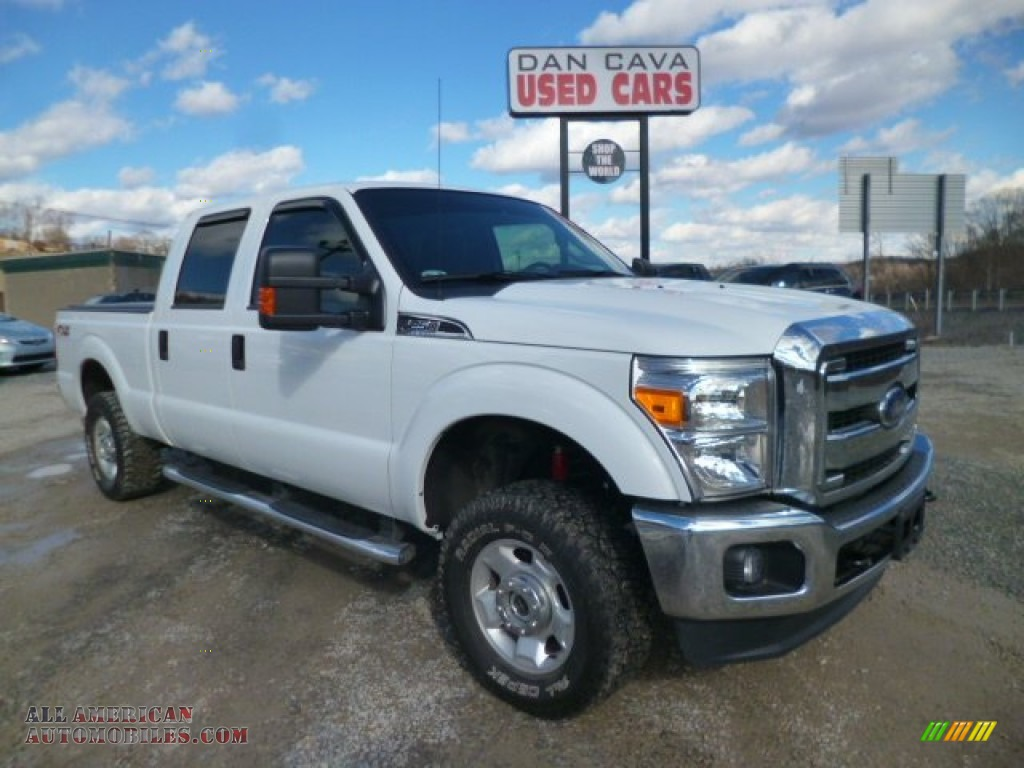 2012 ford f250 super duty xlt crew cab 4x4 in oxford white d14049 all american automobiles. Black Bedroom Furniture Sets. Home Design Ideas