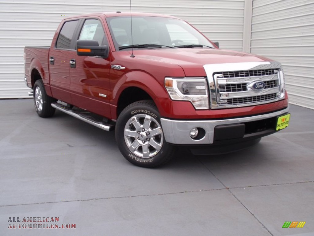 2014 ford f150 xlt supercrew in ruby red d44640 all american automobiles buy american cars. Black Bedroom Furniture Sets. Home Design Ideas