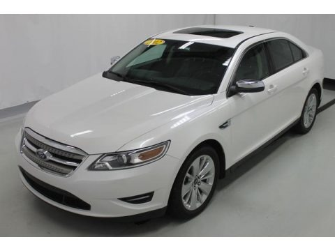 White Platinum Tri-Coat 2012 Ford Taurus Limited