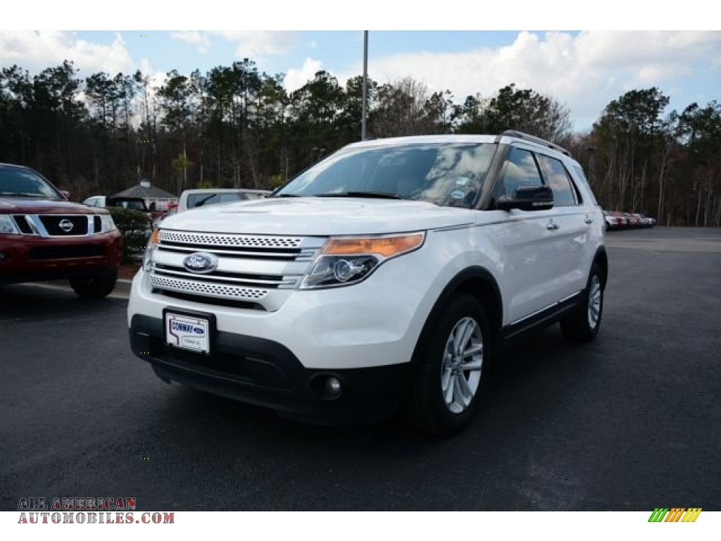 2013 ford explorer xlt ecoboost in oxford white a40042 all american automobiles buy. Black Bedroom Furniture Sets. Home Design Ideas