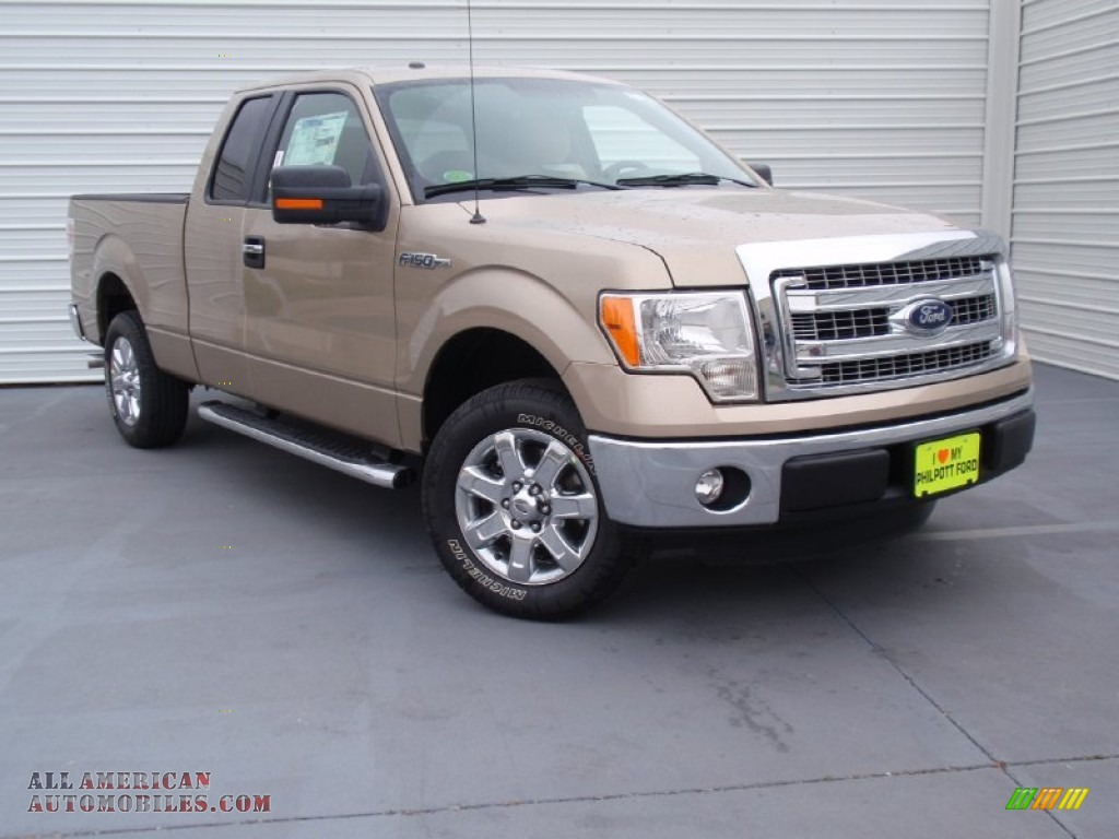2014 ford f150 xlt supercab in pale adobe a93125 all american automobiles buy american. Black Bedroom Furniture Sets. Home Design Ideas