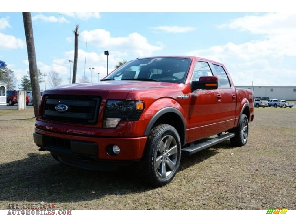2014 ford f150 fx4 supercrew 4x4 in sunset a74916 all american automobiles buy american. Black Bedroom Furniture Sets. Home Design Ideas