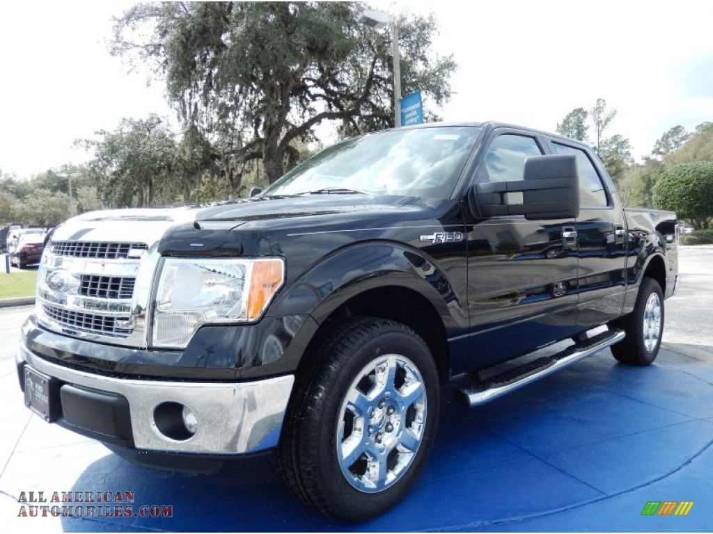 2014 ford f150 xlt supercrew in tuxedo black a90683 all american automobiles buy american. Black Bedroom Furniture Sets. Home Design Ideas