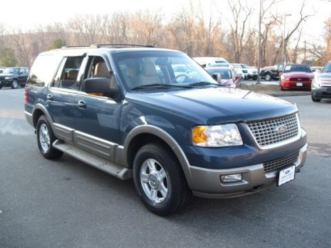 Medium Wedgewood Blue Metallic 2004 Ford Expedition Eddie Bauer 4x4