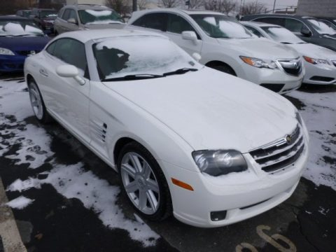 Alabaster White 2006 Chrysler Crossfire Limited Coupe