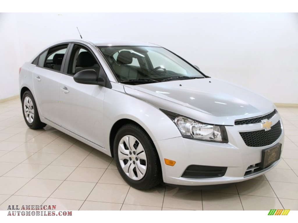 2014 chevrolet cruze ls in silver ice metallic 160021 all american automobiles buy. Black Bedroom Furniture Sets. Home Design Ideas