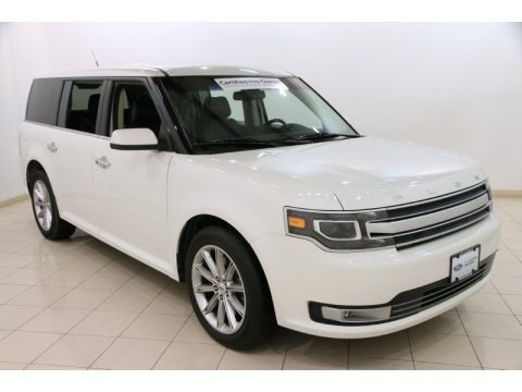 White Suede 2014 Ford Flex Limited AWD