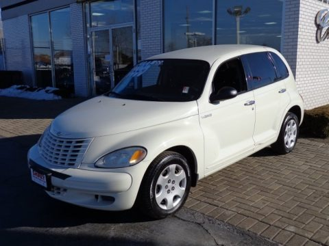 Cool Vanilla White 2005 Chrysler PT Cruiser Touring