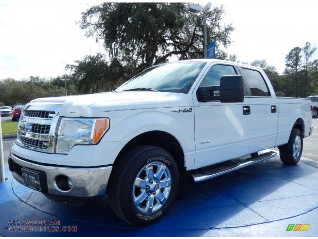 2014 ford f150 xlt supercrew in oxford white a82425 all american automobiles buy american. Black Bedroom Furniture Sets. Home Design Ideas