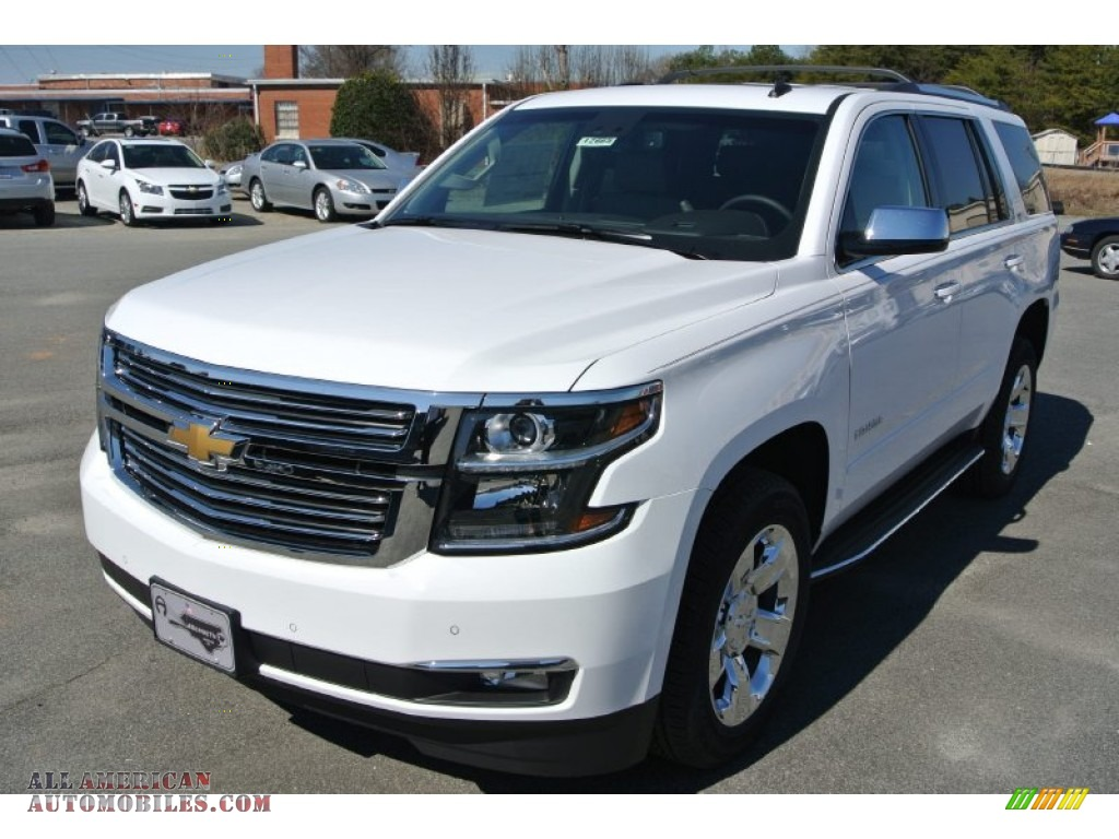 2015 chevrolet tahoe ltz 4wd in summit white photo 2 105679 all american automobiles buy. Black Bedroom Furniture Sets. Home Design Ideas