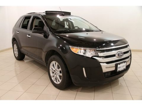 Tuxedo Black Metallic 2011 Ford Edge SEL AWD