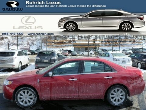 Red Candy Metallic 2011 Lincoln MKZ AWD
