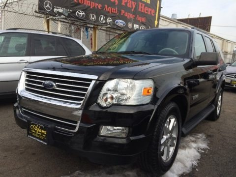 Black 2007 Ford Explorer XLT 4x4