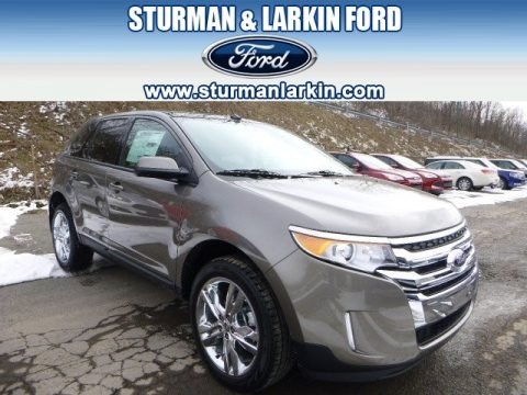 Mineral Gray 2014 Ford Edge SEL AWD