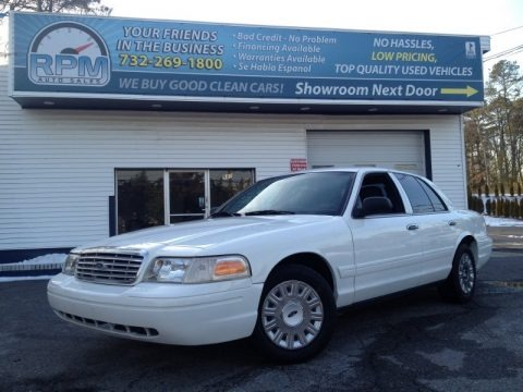 Vibrant White 2007 Ford Crown Victoria