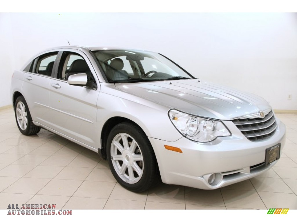 2007 chrysler sebring limited sedan in bright silver. Black Bedroom Furniture Sets. Home Design Ideas
