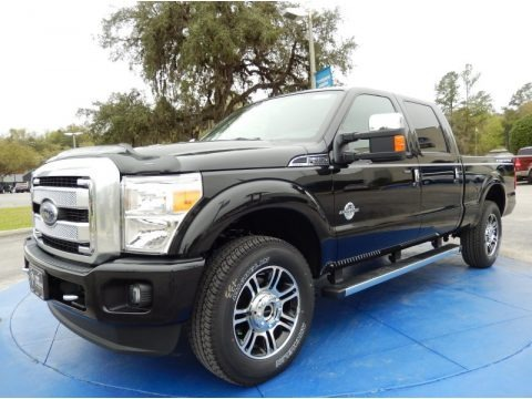 Tuxedo Black Metallic 2014 Ford F250 Super Duty Platinum Crew Cab 4x4